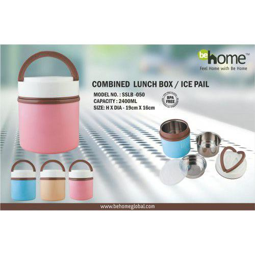 BeHome Combined Lunch Box SSLB - 050