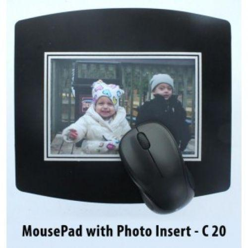 MOUSE PAD WITH PAPER INSERT E20