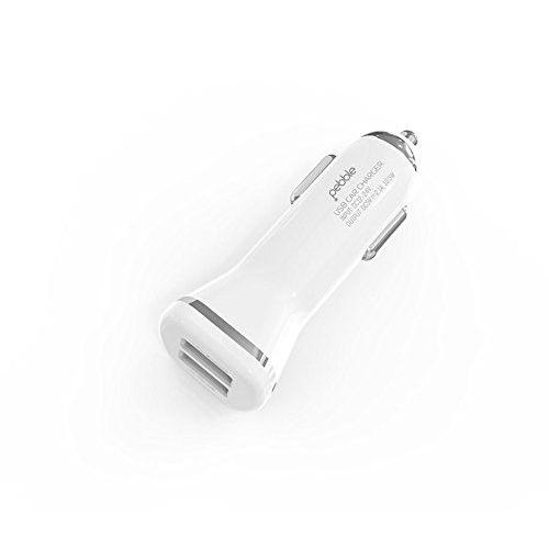 Pebble 2 USB Car Charger (New) PCC22