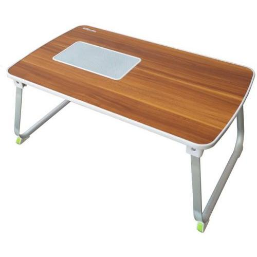 Portronics Mybuddy LSolid Wood Portable Laptop Table  (Finish Color - Brown) Por 833