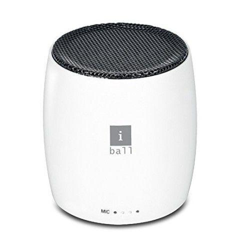 iBall Crazy Beatz B4 Portable Bluetooth Speaker (White)
