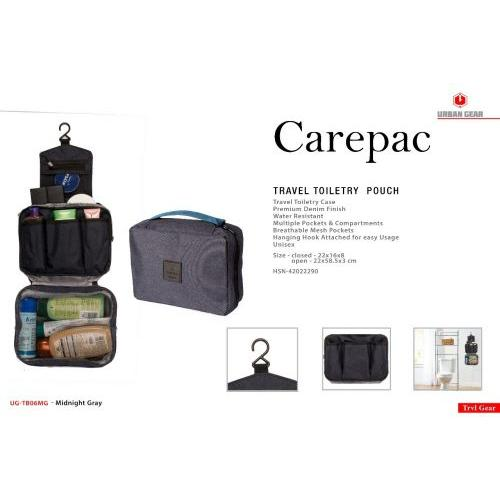 Carepac Travel Toiletry Pouch UG-TB06