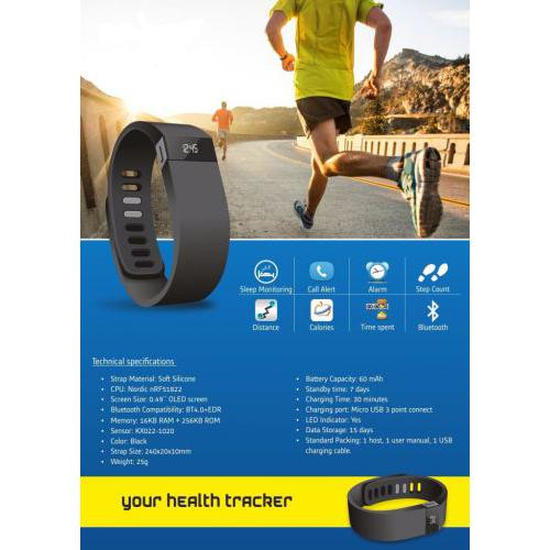Smart Activity Fitness Tracker Band SB01