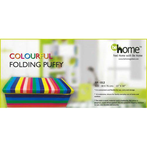 BeHome Colourful Folding Puffy FP - 012