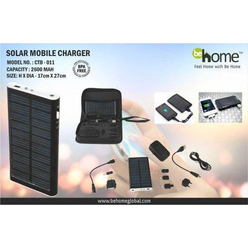 BeHome Solar Mobile Charger CTB - 011