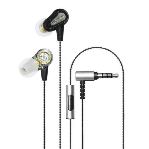 Portronics Conch 208 Powerful Dual Driver Earphones with Mic POR-885