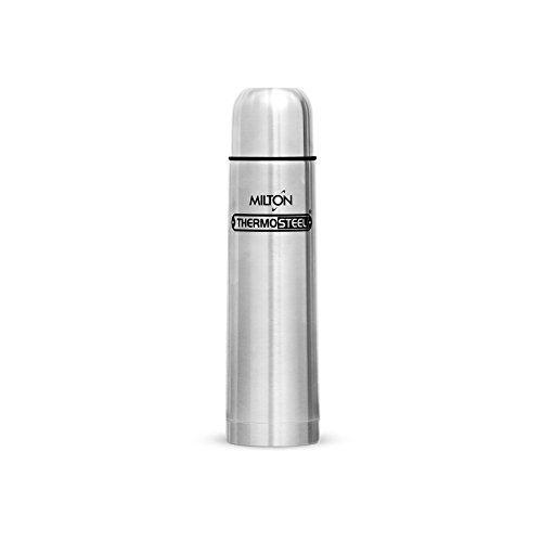 Milton Thermosteel With Plain Lid, 750 ml (EC-TMS-FIS-0048_Silver)