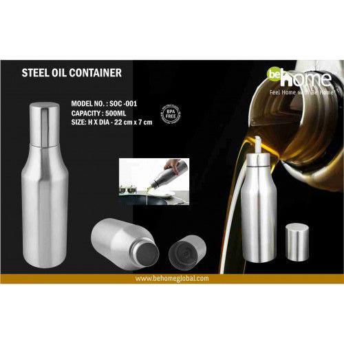 BeHome Steel Oil Container SOC - 001