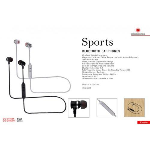 BLUETOOTH EARPHONE SET UG-GH06