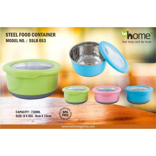 BeHome Steel Food Container SSLB - 053