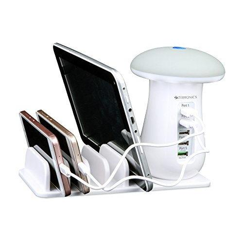 ZEBRONICS 5 Port Docking Station with Mobile and Tablet Holder - Zeb(5CSLU3)