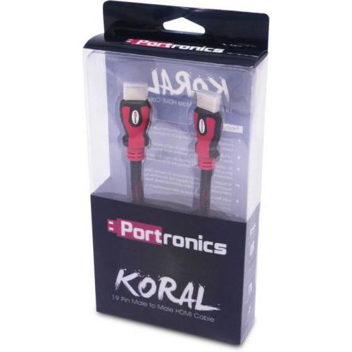Portronics Koral HDMI Cable For HD TV,Home Theater,Projector - POR 635