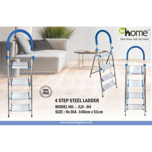 BeHome 4 Step Steel Ladder JLD - 004