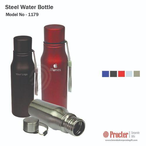 Steel Water Bottle 850ML H-055 in bulk for corporate gifting